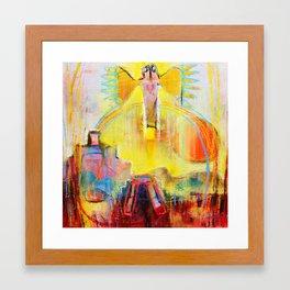 Ancient Gods Framed Art Print