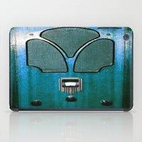 radio iPad Cases featuring Vintage Radio by 2sweet4words Designs