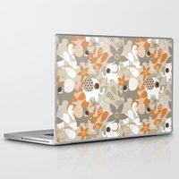 nursery Laptop & iPad Skins featuring African Nursery Elephant 1 by EloisaD