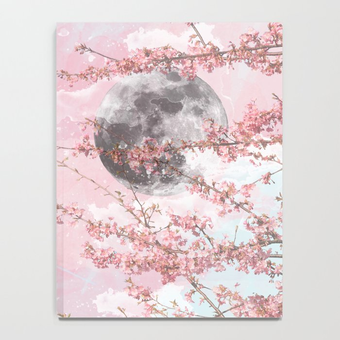 Spring Moon Notebook