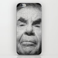 kevin russ iPhone & iPod Skins featuring Russ Meyer Tribute Poster by Holland