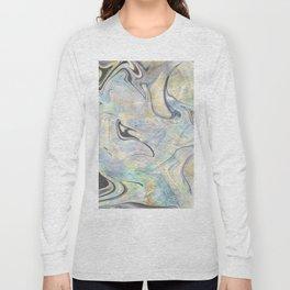 Mermaid Marble Long Sleeve T-shirt