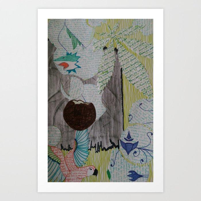 Aftahkrop Art Art Print