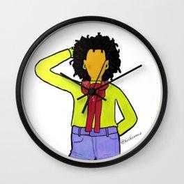 Black Girl Magic Wall Clock