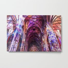 Technicolor Metal Print