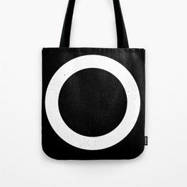 (CIRCLE) (BLACK & WHITE) Tote Bag