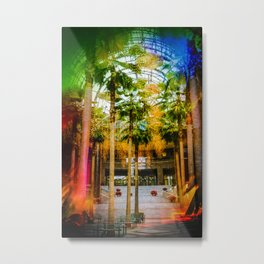 Conservatory  in the earlier WTC Metal Print