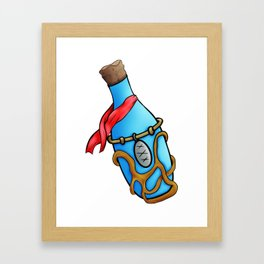 Magic potion Framed Art Print