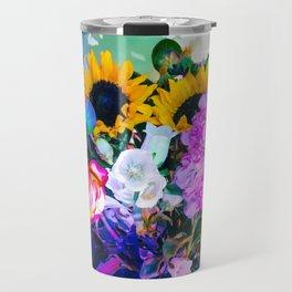 Disco Bouquet II Travel Mug