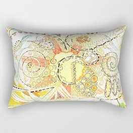 Untethered Paisley Rectangular Pillow