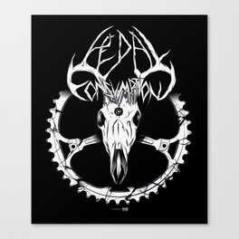 PC Antlers Canvas Print