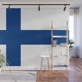 Flag of Finland - High Quality Image Wall Mural