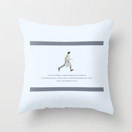 Walter Mitty, Ben Stiller, Major Tom, Print Throw Pillow