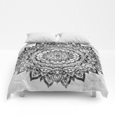 BLACK JEWEL MANDALA Comforters