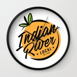 Indian River Local Wall Clock