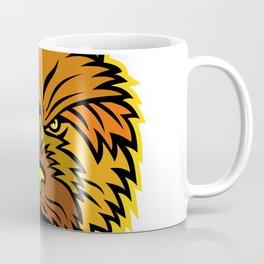 Norwich Terrier Mascot Front Coffee Mug