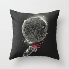 Galactic Mission Throw Pillow