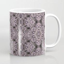Wool Lace Bohemian Pattern Fiber Texture Taupe Mauve Coffee Mug