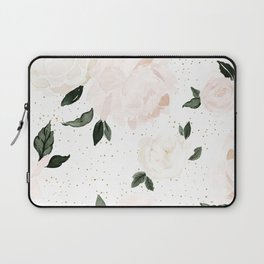 vintage blush floral Laptop Sleeve
