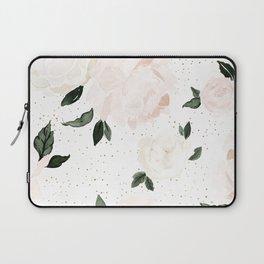 vintage blush floral Laptop Sleeve