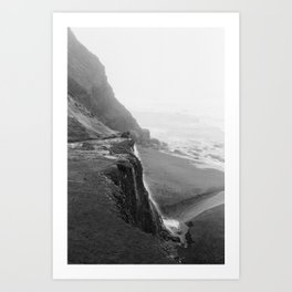 Cliff View Point Reyes California - 35mm film Art Print