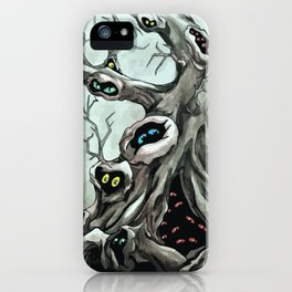Peepers iPhone Case