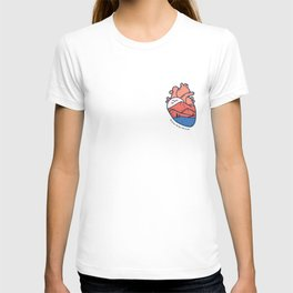 Anatomical Heart for the Traveler T-shirt