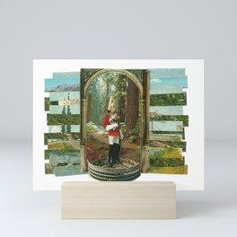 Nature Colosseum Collage Mini Art Print