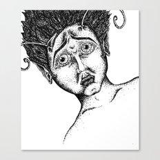 The Bug Lady Canvas Print