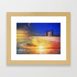 Naples MashUp III Framed Art Print