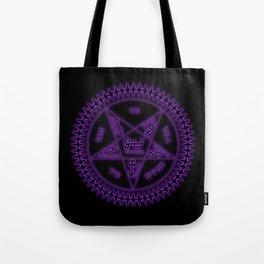 Sebastian Michaelis Sigil Dark (black bg) Tote Bag