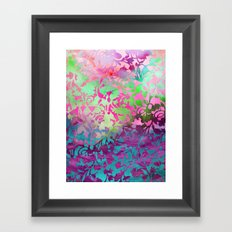 Earth Watercolor by Jacqueline Maldonado & Garima Dhawan Framed Art Print
