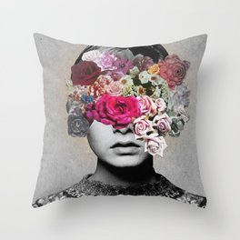 _THE LOOK OF LOVE Throw Pillow