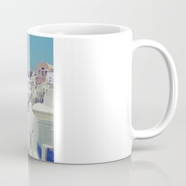 Blue Domes II, Oia, Santorini, Greece Coffee Mug