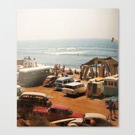SoCal surf culture. 1964 Canvas Print