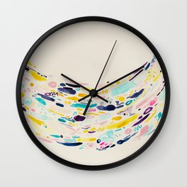 A Cup of Whimsy Wall Clock