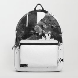 Knoxville Tennessee Skyline BW Backpack