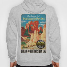Vintage poster - Bryce Canyon Hoody
