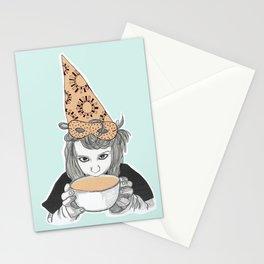 Birthday witch Stationery Cards