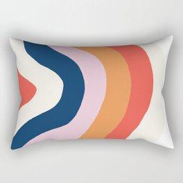moab, canyon stripes Rectangular Pillow