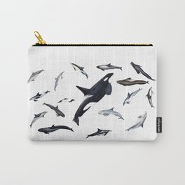 Dolphins all around Carry-All Pouch