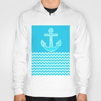 anchor Hoodies featuring Anchor by haroulita