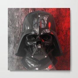 Darth Vader Skull 01 Metal Print