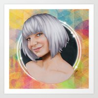 sia Art Prints featuring Sia  by Will Costa