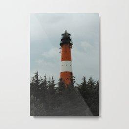 Lighthouse Photography Metal Print