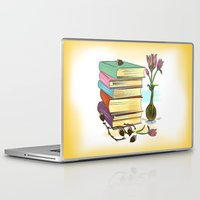 books Laptop & iPad Skins featuring Books by famenxt