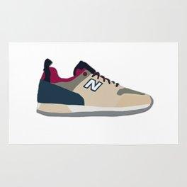New Balance Sneaker Illustration Rug