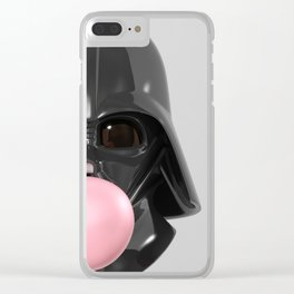 Darth Vader Bubble Gum 02 Clear iPhone Case