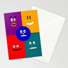 Faces of JobiJu Stationery Cards