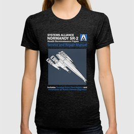 Normandy SR-2 Systems Alliance Service and Repair Manual T-shirt